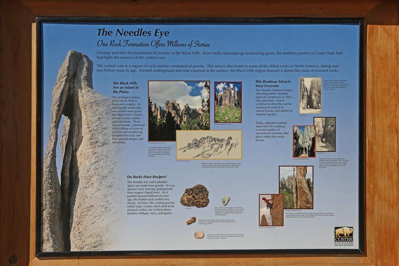September 18, 2017 - Custer State Park.  Needles Highway Scenic Drive.