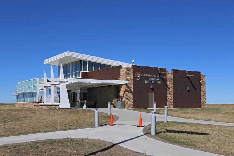 September 20, 2017 - Minuteman Missile National Historic Site visitor center. Exit 131 off I-90 east of Rapid City.