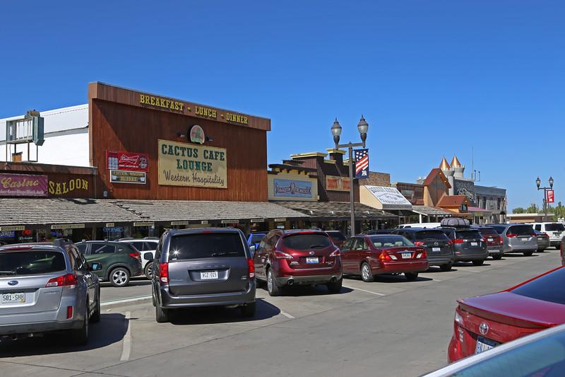 September 21, 2017. Across Main Street from the 'famous' Wall Drug Store, Wall, South Dakota.