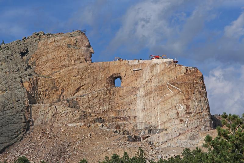September 17, 2017 - Crazy Horse Memorial.
