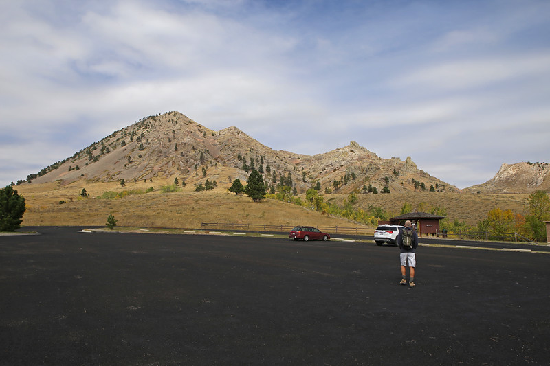"""September 22, 2017 - Hike up Bear Butte, north of Sturgis. Many American Indians see Bear Butte as a place where the creator has chosen to communicate with them through visions and prayer. See: <a href=""""https://goo.gl/kH7tnW"""">https://goo.gl/kH7tnW</a>"""