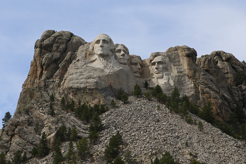 September 17, 2017 - Mount Rushmore National Memorial.