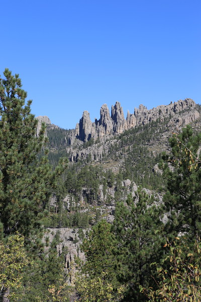 September 18, 2017 - Custer State Park.  Needles Highway Scenic Drive.