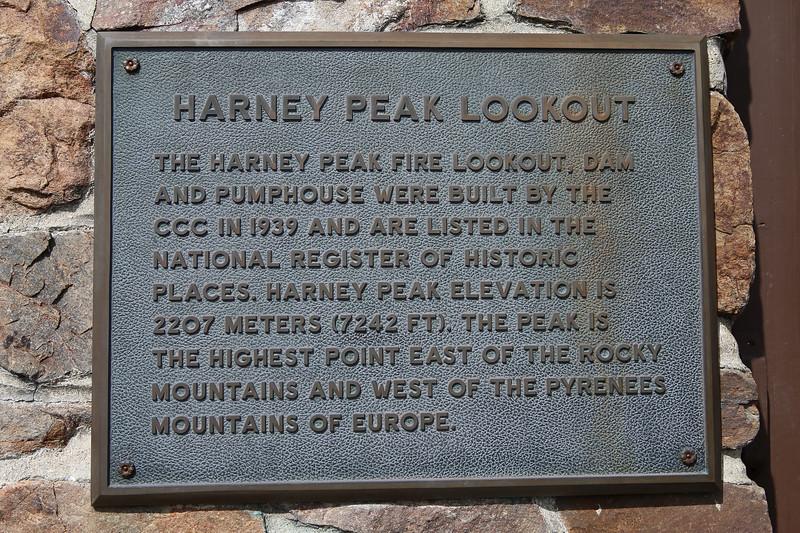 September 18, 2017 - Custer State Park. Hiking up Black Elk (Harney) Peak.