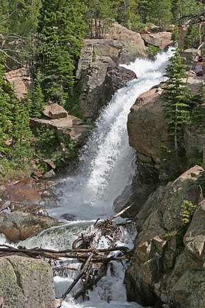 Bear Lake area, Alberta Falls.