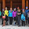 Zephyr Adventures. February 19, 2014. Snow Lodge, Yellowstone National Park. L-R: Kris Thomas Keys, Debra Vaughn, Tony Santucci, Deborah Sanders, Linda Jellison, Michael Henderson, Susan Henderson, Rhonda Jerrett, Rick Otis, Cindy Anderson.