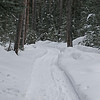 Zephyr Adventures. February 20, 2014. Early morning hike along Buffalo Horn Creek, 320 Guest Ranch, Big Sky, MT.
