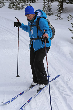 Zephyr Adventures. February 18, 2014. Lone Star Geyser Trial, Yellowstone National Park. Rhonda Jarrett.