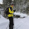 Zephyr Adventures. February 18, 2014. Lone Star Geyser Trial, Firehole River, Yellowstone National Park. Tony Santucci.