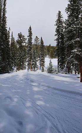 Zephyr Adventures. February 16, 2014. Lone Mountain Ranch, Big Sky, MT.