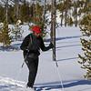 Zephyr Adventures. February 17, 2014. Loop Trail, Upper Geyser Basin, Yellowstone National Park. Michael Henderson.