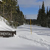 Zephyr Adventures. February 18, 2014. The Continental Divide south of Old Faithful along the Grand Loop Road, Yellowstone National Park.