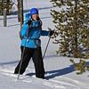Zephyr Adventures. February 17, 2014. Loop Trail, Upper Geyser Basin, Yellowstone National Park. Rhonda Jarrett.