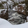 Zephyr Adventures. February 17, 2014. Firehole Canyon Drive along the Firehole River south of Madison, Yellowstone National Park.