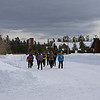 Zephyr Adventures. February 17, 2014. Heading to pick up skiing gear.  Kelly Inn, West Yellowstone, MT.