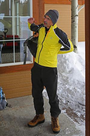 Zephyr Adventures. February 17, 2014. Kelly Inn, West Yellowstone, MT. Tony.