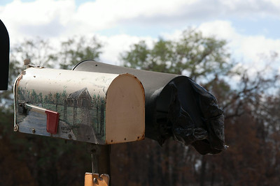 Bastrop County mailbox