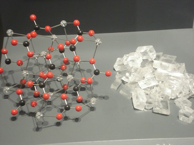 Crystal structure and molecular structure