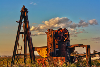 Dismantled Oil Jack (HDR)