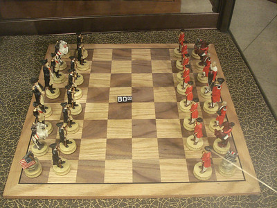 Colonial war chess