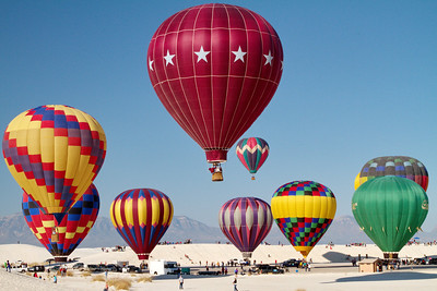2012 White Sands Balloon Launch