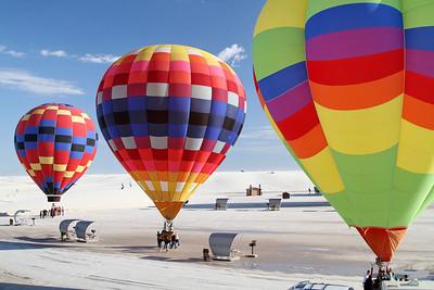 2011 White Sands Balloon Launch