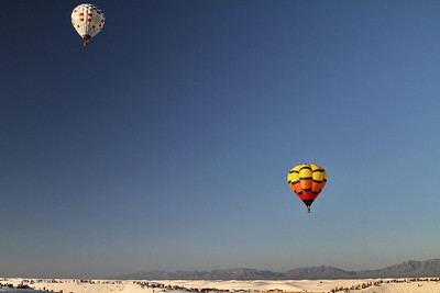 Balloon Launch; White Sands National Monument, NM