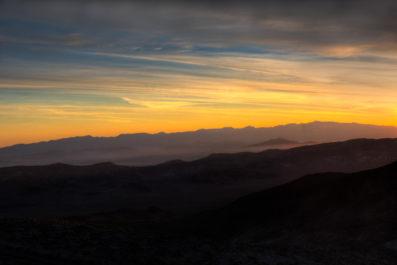 Sunrise from Dante's View