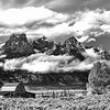 Moulton Barn and magestic Tetons