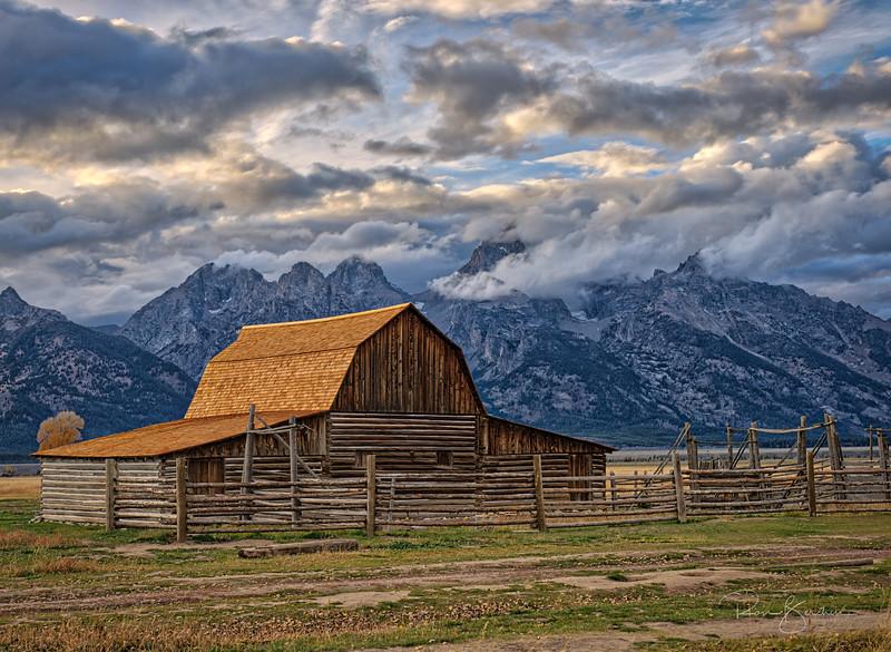Corral Barn, Mormon Row, Tetons