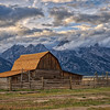 Corral Barn, Mormon Row, Tetons