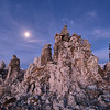 Mono Lake, moonlight
