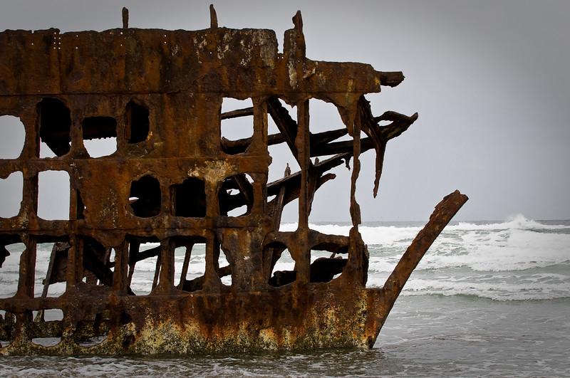Wreck of the Peter Iredale-Oregon-Warrenton