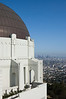 Overlooking Los Angeles from the Griffith observatory.