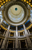 The interior rotunda and dome of the Idaho State Capitol. Scenes like this are much easier to shoot if you're carrying a wide angle lens.