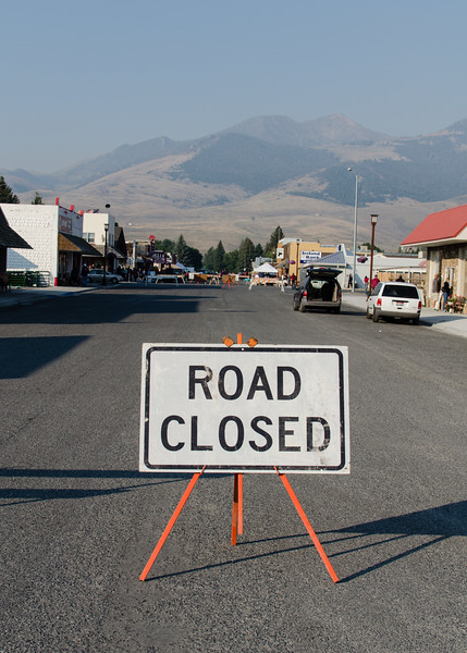 Mackay blocked off Main Street for anticipated eclipse crowds. The number of people that showed up underwhelmed. The only eclipse complaints I am aware of were made by businesses hoping to cash in on massive crowds. Crowds were down over the entire country. Too many people were scared away by horror stories about traffic and the rest bought the malarkey that 99% coverage is close enough to 100%. Eclipses are not tests. That last 1% obscures a vast unfathomable difference.