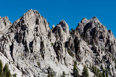 The teeth in the Sawtooths.