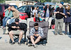 Watching fellow eclipse viewers is almost more entertaining than watching the Moon's shadow creeping over the Sun. I particularly like the young fellow reading his phone with his eclipse shades on. His screen must have been set to blinding.