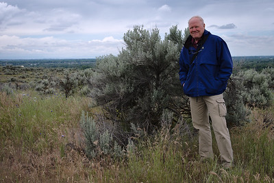 I finally got around to visiting Camel Back Park in the Boise foothills today.  It was an overcast day which is ideal for hiking provided the rain holds off.