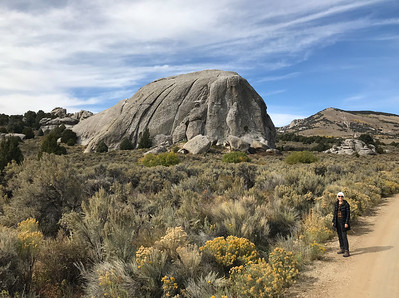 """Mali near Elephant Rock. I snapped this iPhone shot standing in the bed of my pickup. I call standing on vehicles to shoot pictures """"Ansel Adams'ing."""""""