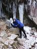 Mali hiking in Gatineau.