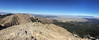 An iPhone panorama, looking mostly northwest, from Sacagawea Peak summit.