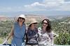 Mali, Sedi and Maryam on the way to Los Alamos.