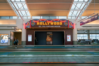 Hollywood Theatre in Portland Airport