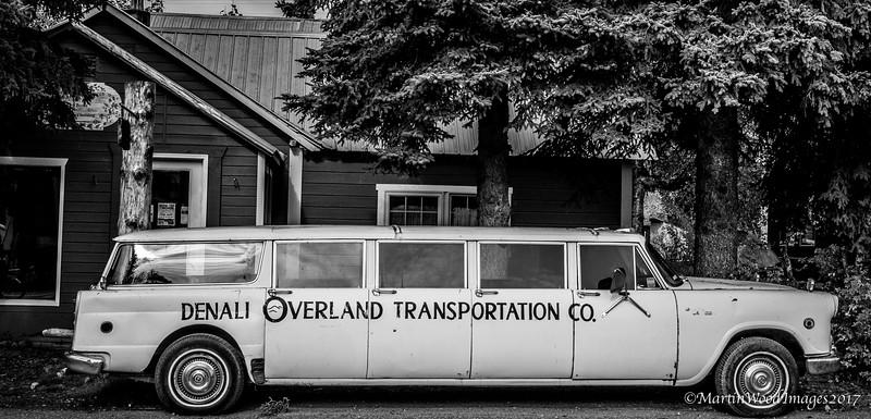 The only way to travel, Talkeetna, Alaska