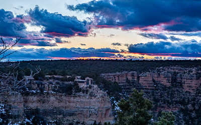 Grand Canyon Sunset (looking westerly)