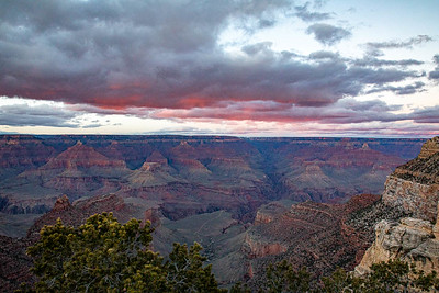 Grand Canyon Sunset--looking NE