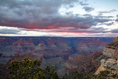 Grand Canyon Sunset--looking NE