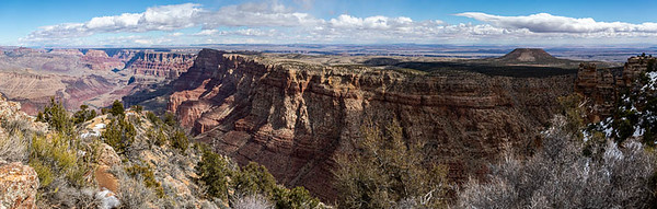 Eastern view of the Grand Canyon