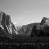 El Capitan in the morning light in Yosemite National Park, California. Early July 2013.